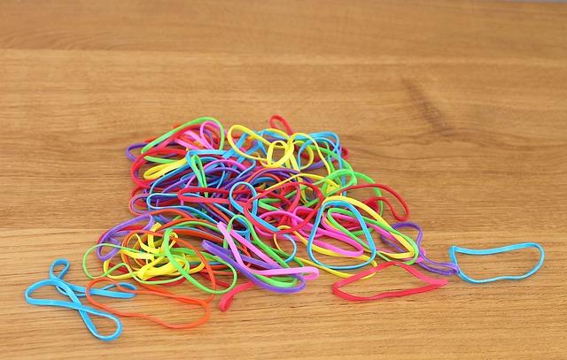 Rubber Band, Rubber Bands, Colors, Colored Rubber Bands