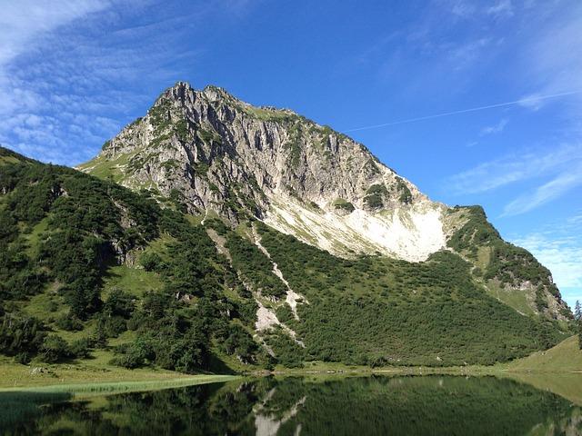 Gaisalpsee, Rubihorn, Oberstdorf, Allgäu
