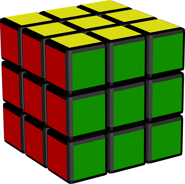 Cube, Game, Rubik's Cube