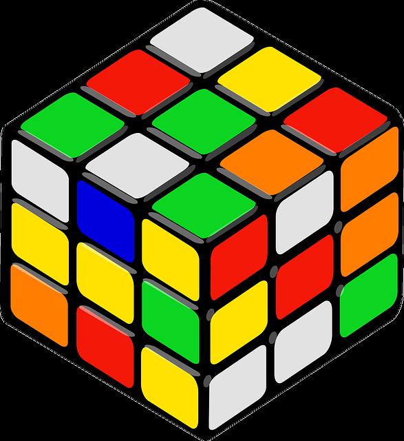Rubik's Cube, Cube, Puzzle, Game, Rubik, Colors