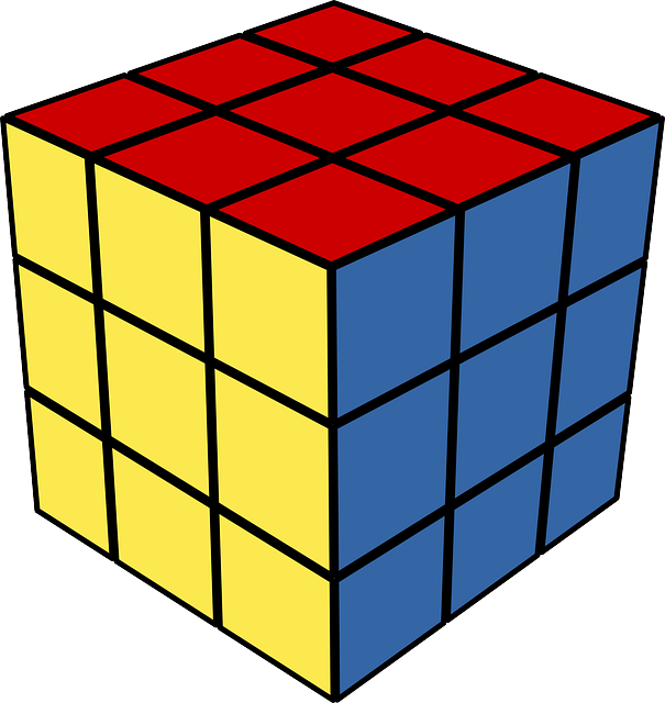 Rubik's Cube, Puzzle, Toy, Playing, Cube, Square, Game