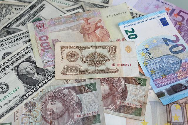 Ruble, Money, Bills, Currency Symbol