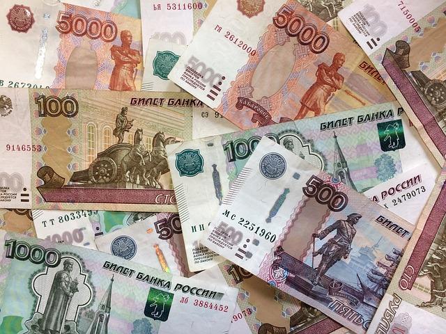 Ruble, Money, Bills, Russia, Russian, Thousand Rubles