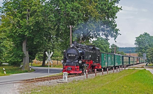 Rasender Roland, Rügen Island, Narrow Gauge Railway