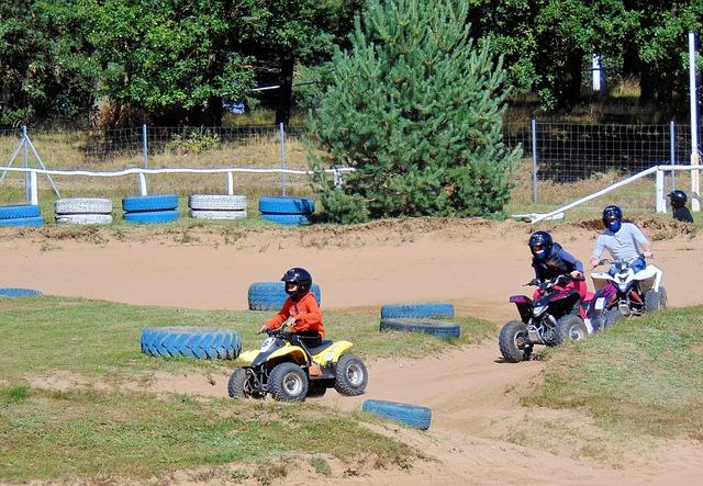 Quad, Go Kart Track, Rügen, Mountains, Rugard, Children
