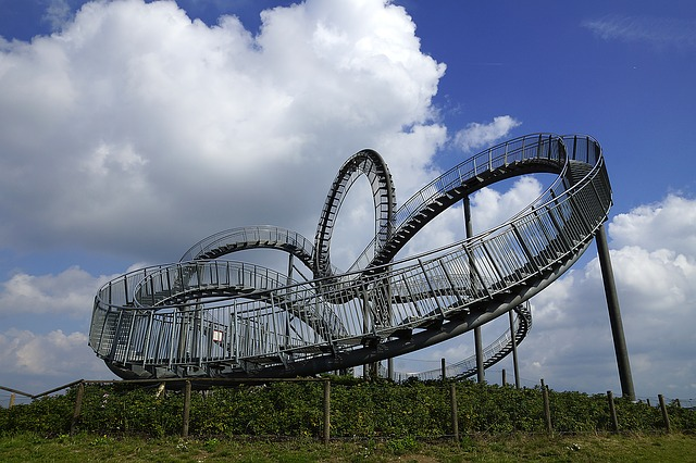 Tiger And Turtle, Ruhr Area, Duisburg, Looping