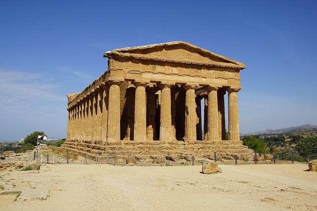 Agrigento, Temple, Greek, Antiquity, Sicily, Ruin