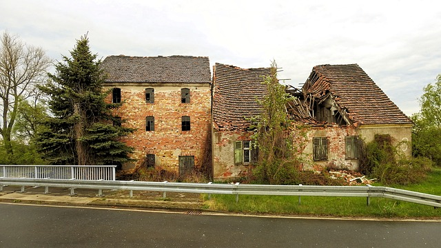 Architecture, Old, Home, Building, Ruin, Leave