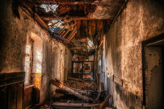 Ruin, Chaos, Collapse, Clutter, Demolition, Lost Places