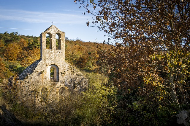 Church, Ruin, Benedictine, Novel, Historical Monument