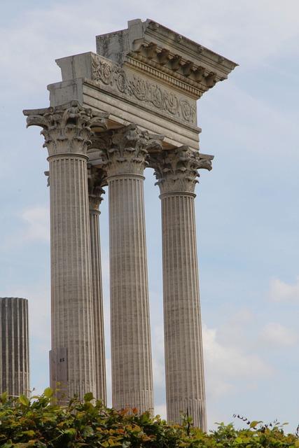 Xanten, Roman, Architecture, Ruin
