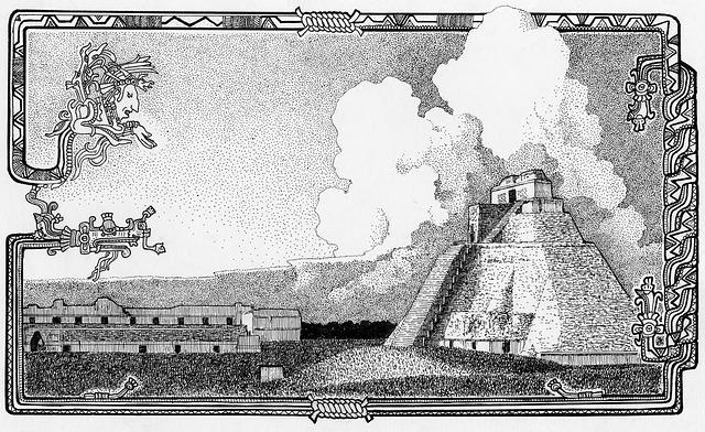 Maya, Temple, Pyramid, Ruin, Itza, Chichen-itza
