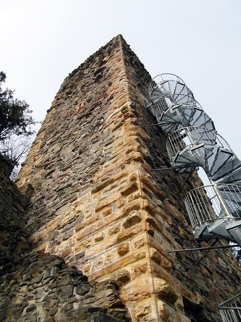 Ruin, Tower, View, Wieladingen, Murg Valley