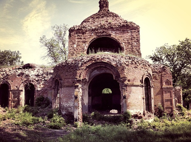 Ruined Church, Architecture, The Ruins Of The