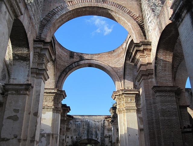 Antigua, Guatemala, Architecture, Historical, Ruins