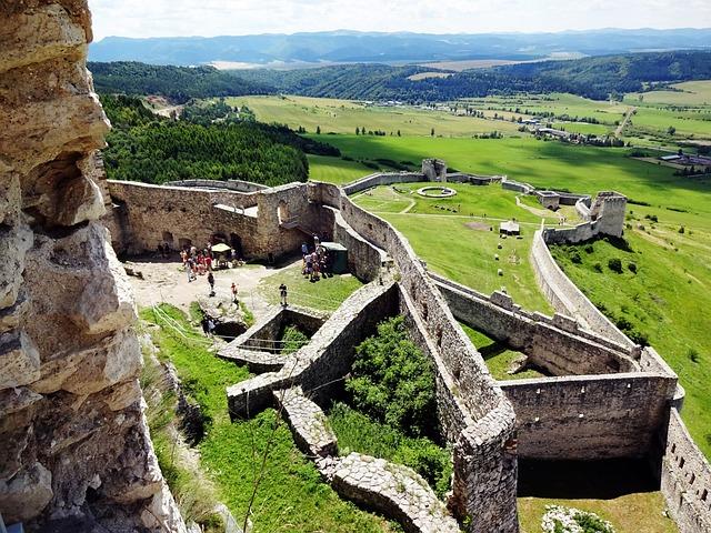 Spis Castle, Slovakia, Unesco, Monument, Ruins, History