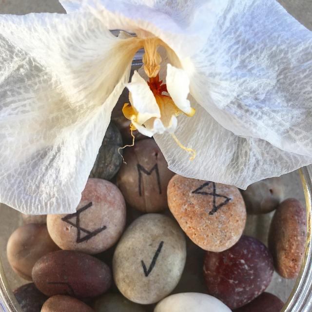 Rune Stones, Stones, Magic, Rune, Esoteric, Fortune