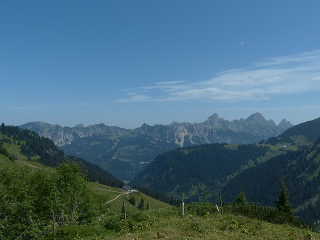 Tannheim, Runners Head, Red Flüh, Gimpel, Alpine