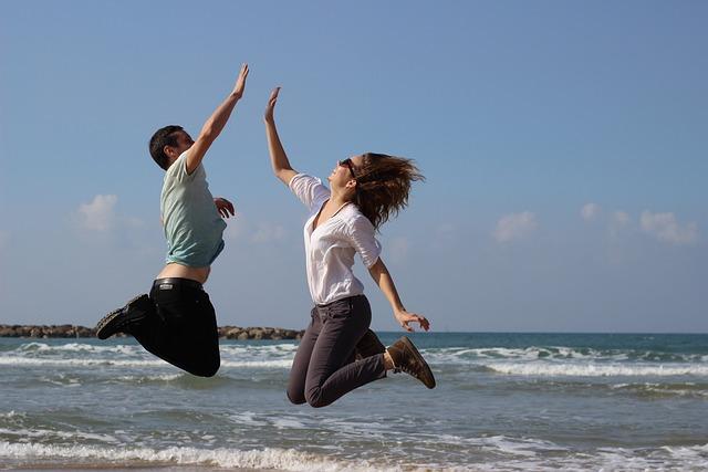 Jump, Fun, Cotton, Running, Sports, Class, Ardor