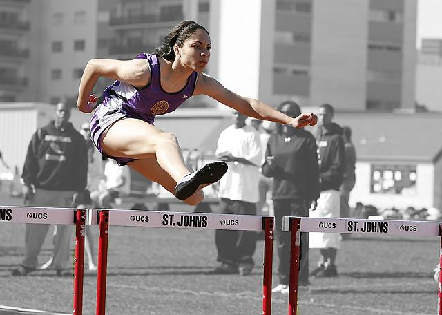 Hurdles, Track, Race, Competition, Running, Obstacle