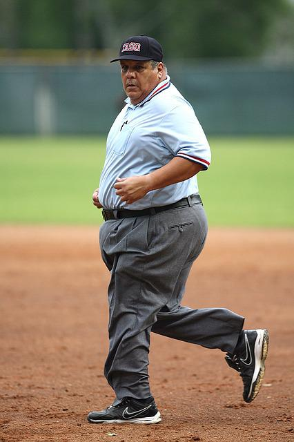 Umpire, Baseball, Running, Concentration, Sport, Game