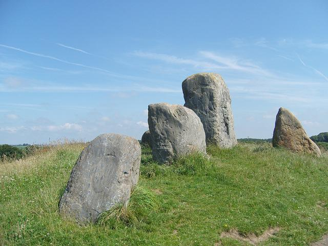 Standing Stone, Rural, Historic, Outdoor, Landscape