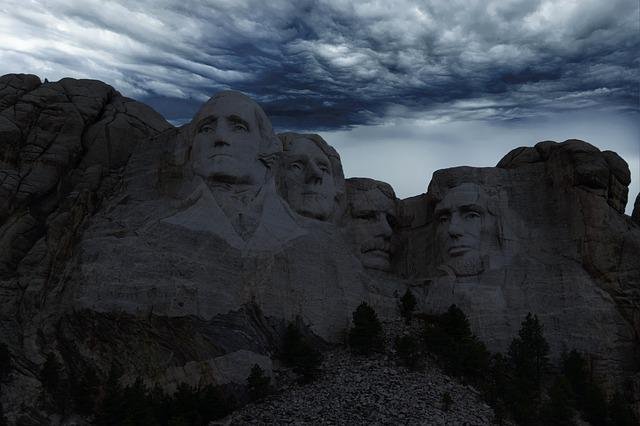 Mount Rushmore, Usa, Rushmore, Washington, Sculpture