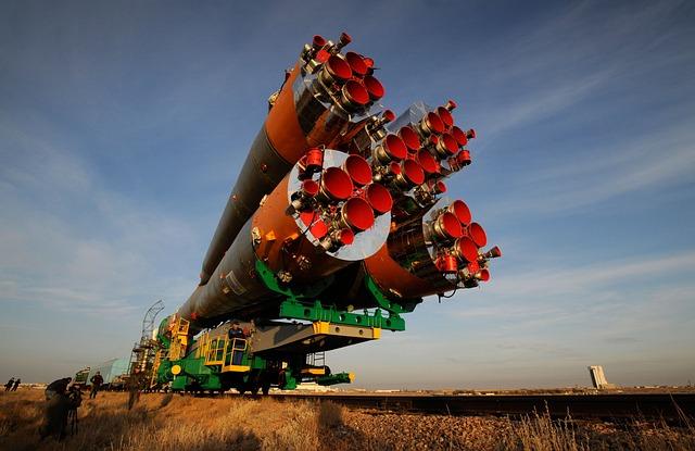 Soyuz Rocket, Spacecraft, Railcar, Transport, Russia