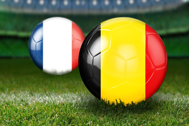 Semifinals, World Cup 2018, Russia, Belgium, France