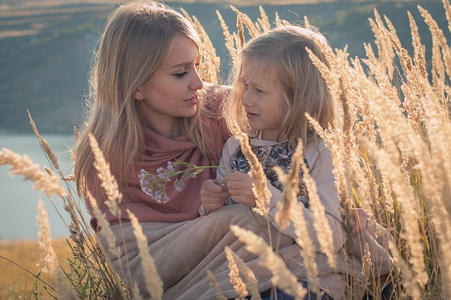 Russian, Family, Mom And Daughter, Baby, Girl, Mother