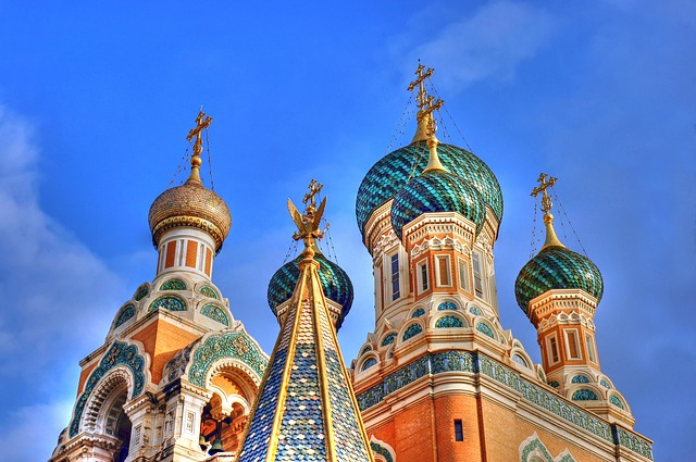 Nice, Basilica, Russian Basilica, Tourist Attraction