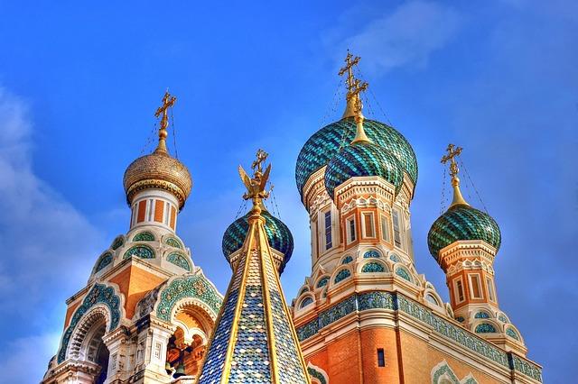 Nice, Basilica, Russian Basilica, Tourist Attraction