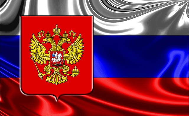 Russia, Russian Flag, Russian Coat Of Arms
