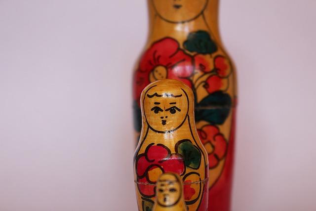 Babuschka, Russian Dolls, Dolls, Figures