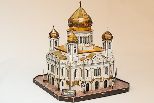 Cathedral, Church, Russian Orthodox Church, Moscow