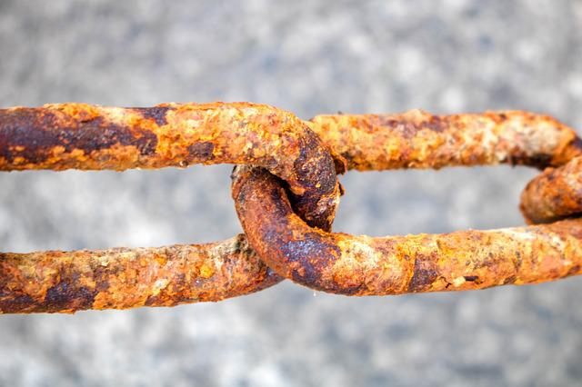 Chain, Rust, Node, Iron, Old, Metal, Security, Comanche