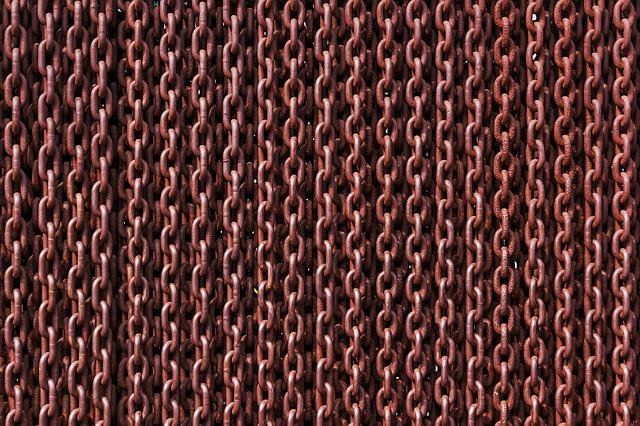 Chains, Rusty, Links, Iron, Metal, Rust, Texture