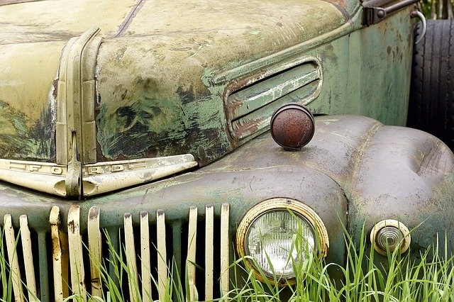 Car, Rust, Antique, Vehicle, Old, Rusted, Auto