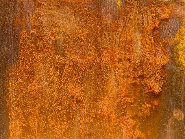 Rusty, Iron, Rusted, Surface, Texture, Metal, Weathered