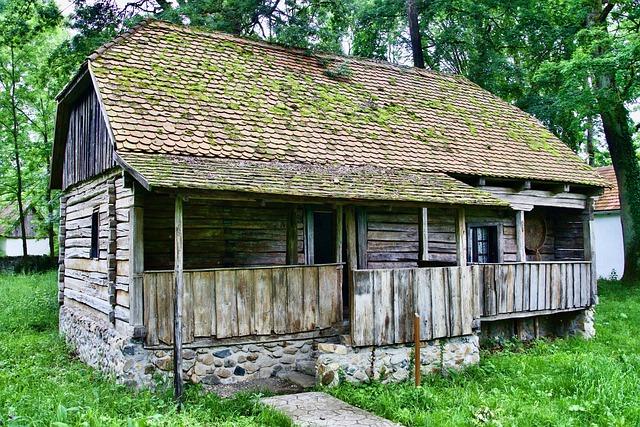 Cabin, Log, Cottage, Rural, House, Rustic, Barn
