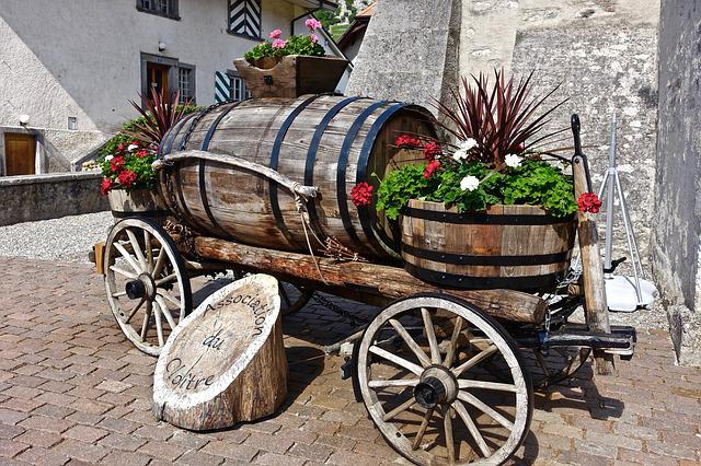 Cart, Wooden, Vintage, Old, Wood, Rustic, Traditional