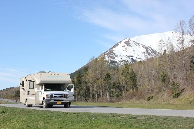 Alaska, Open Road, Rv