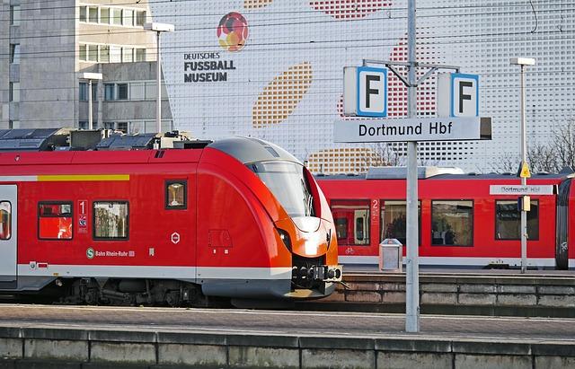Dortmund Hbf, German Football Museum, S Bahn, Terminal