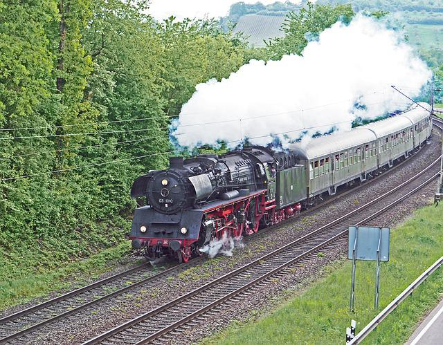 The Steam Spectacle In 2018, Saar Valley, Railway