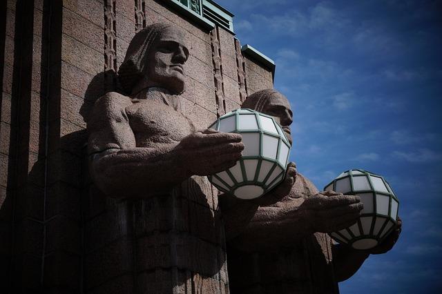 Helsinki, Station, Saarinen, Modern