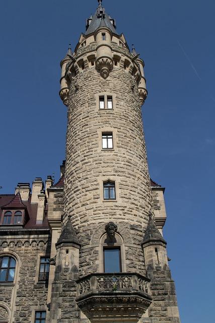 Castle, Sabine, Silesia, Moszna