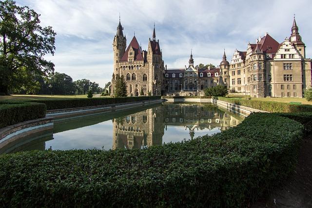 Sabine, Moszna, Castle, Silesia, Neorenesans