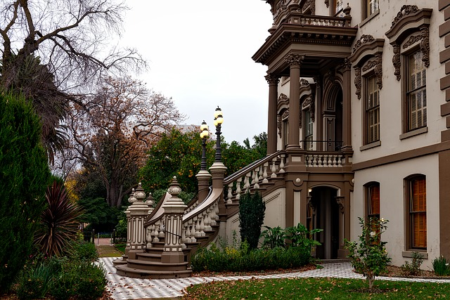 Leland Stanford Mansion, Sacramento, California, House
