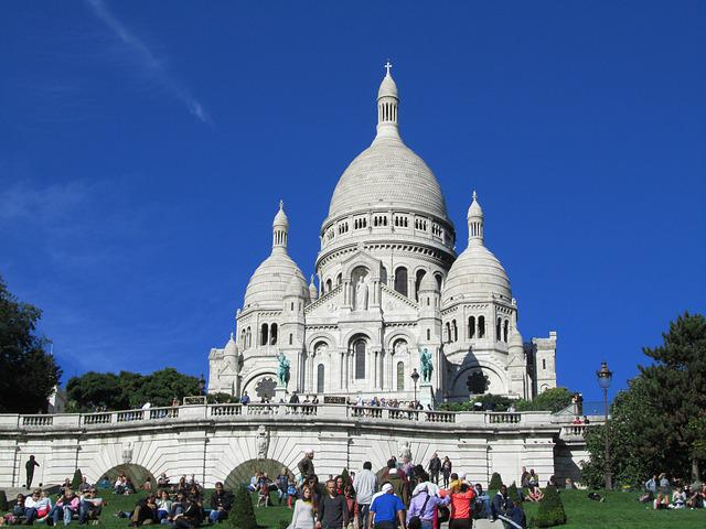 Sacré Coeur, Paris, Cathedral, Church
