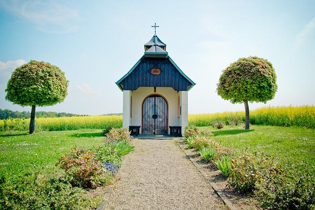 Chapel, Sacred Architecture, Landscape, Idyll, Rest